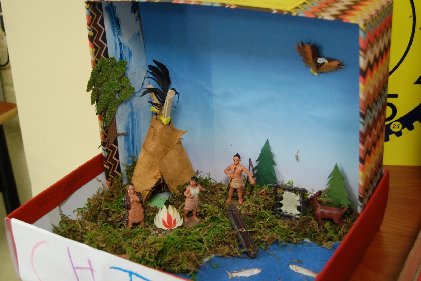 First Grade Project Black American History Shoes Box