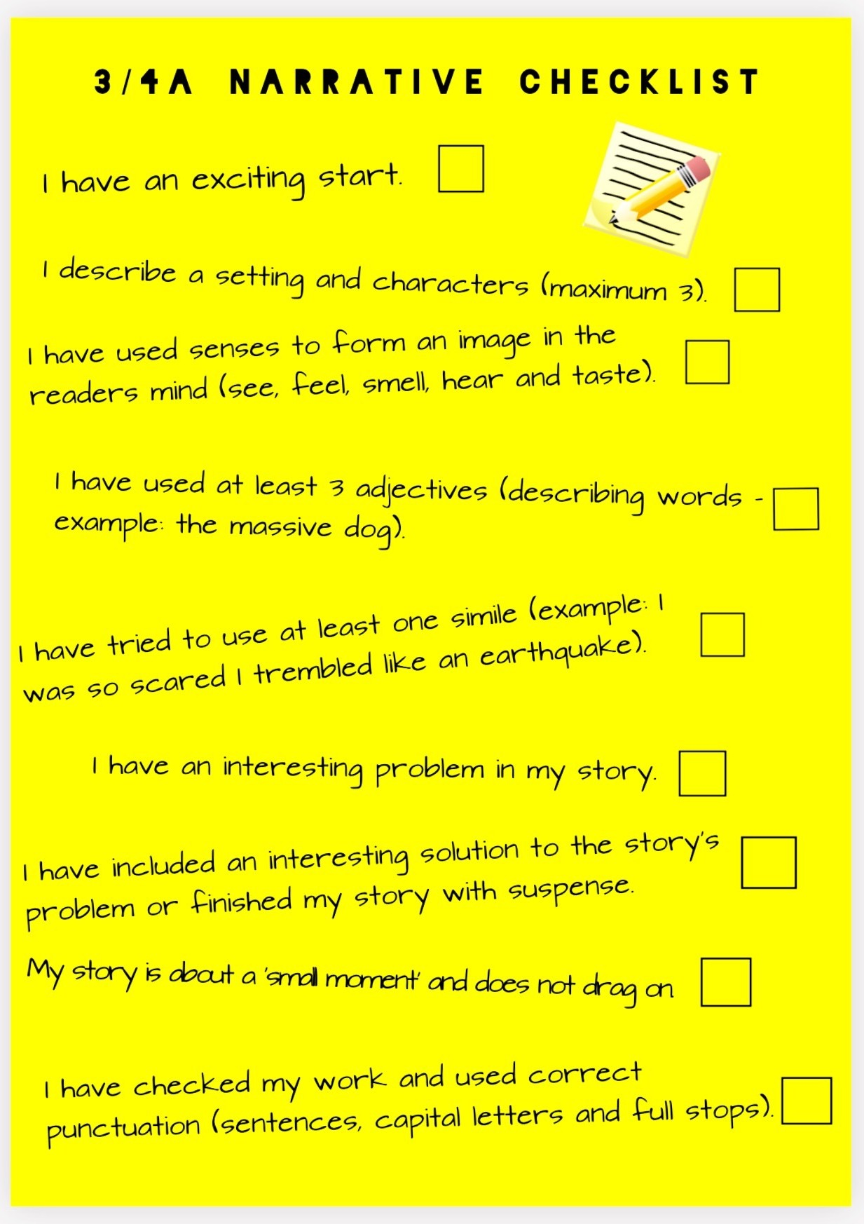 checklist for narrative writing 6th grade – reading & writing curriculum unit template  prompt for narrative writing  through the use of lucy calkins' student checklist and narrative rubric.